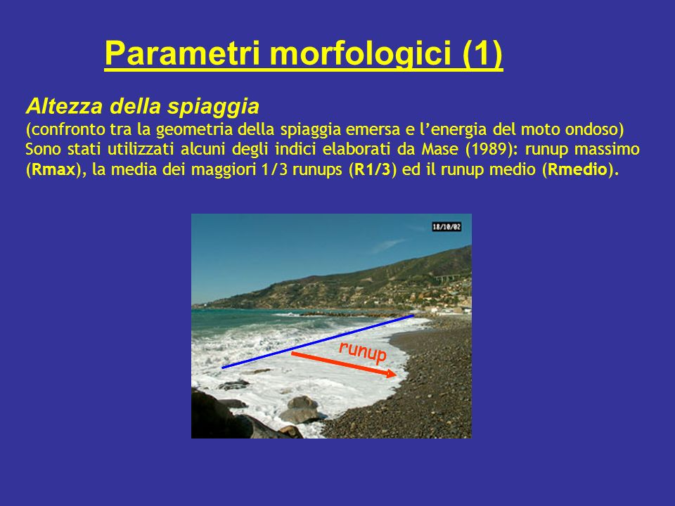 Parametri morfologici (1)