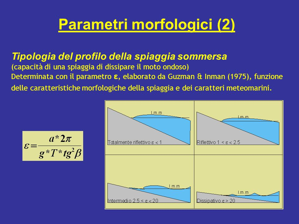 Parametri morfologici (2)