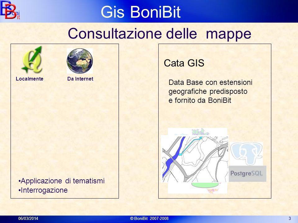 Consultazione delle mappe