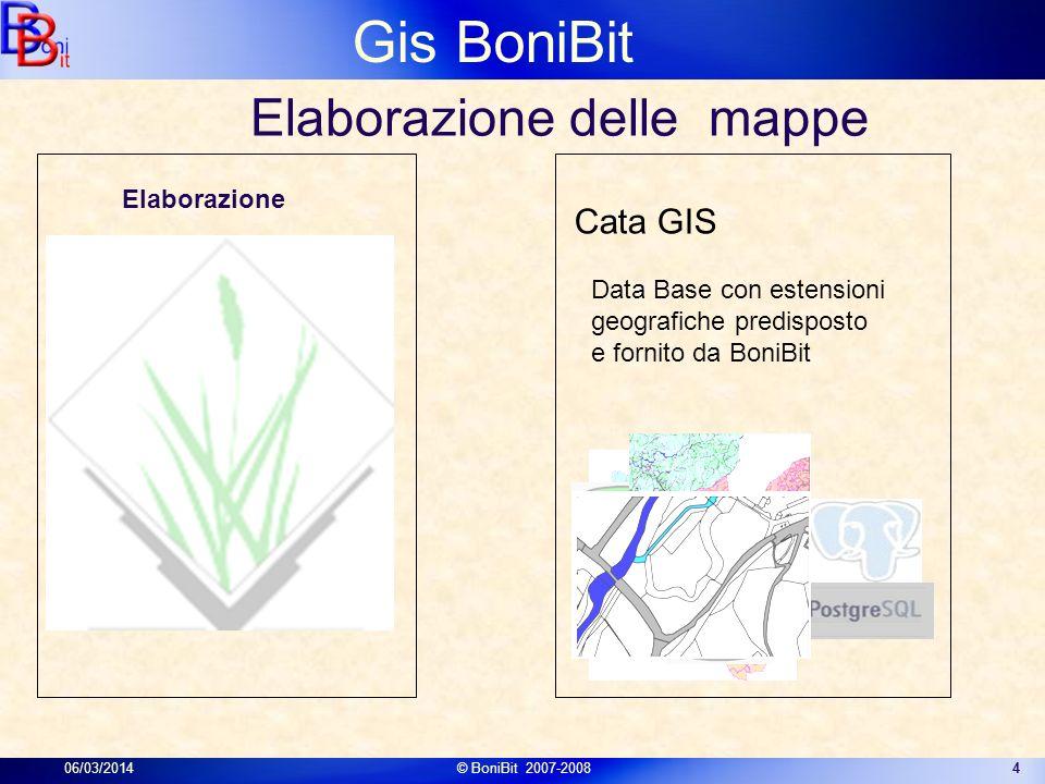 Elaborazione delle mappe