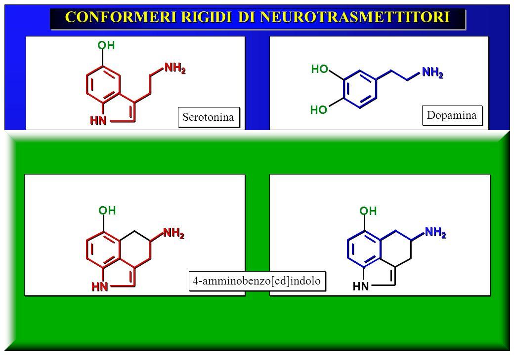 CONFORMERI RIGIDI DI NEUROTRASMETTITORI