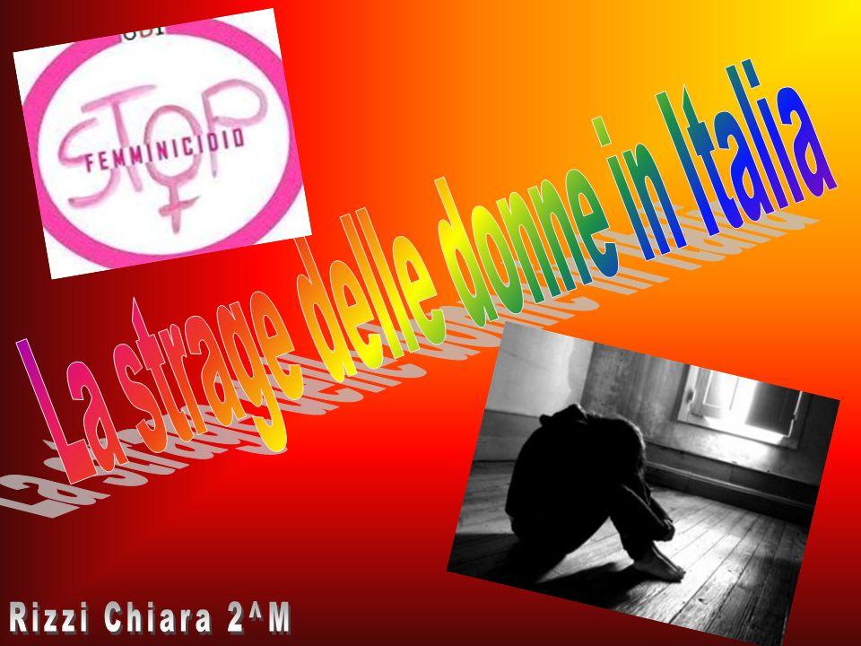 La strage delle donne in Italia