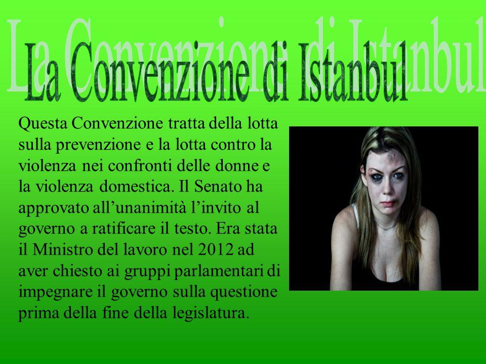 La Convenzione di Istanbul