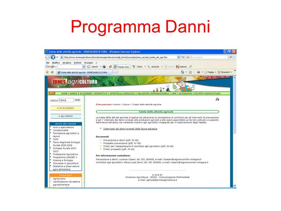 Programma Danni