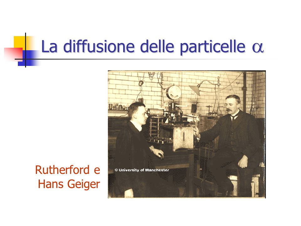 La diffusione delle particelle a