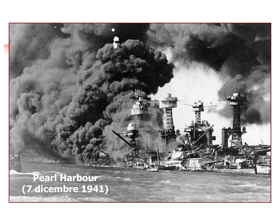 Pearl Harbour (7 dicembre 1941)