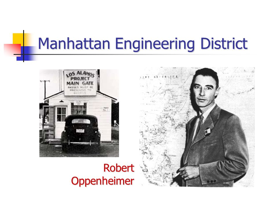 Manhattan Engineering District