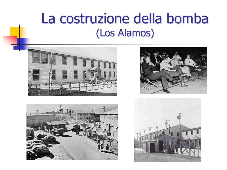 La costruzione della bomba (Los Alamos)