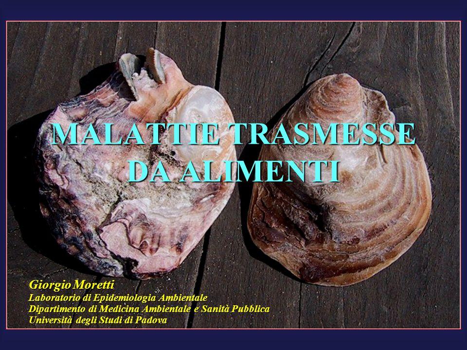MALATTIE TRASMESSE DA ALIMENTI