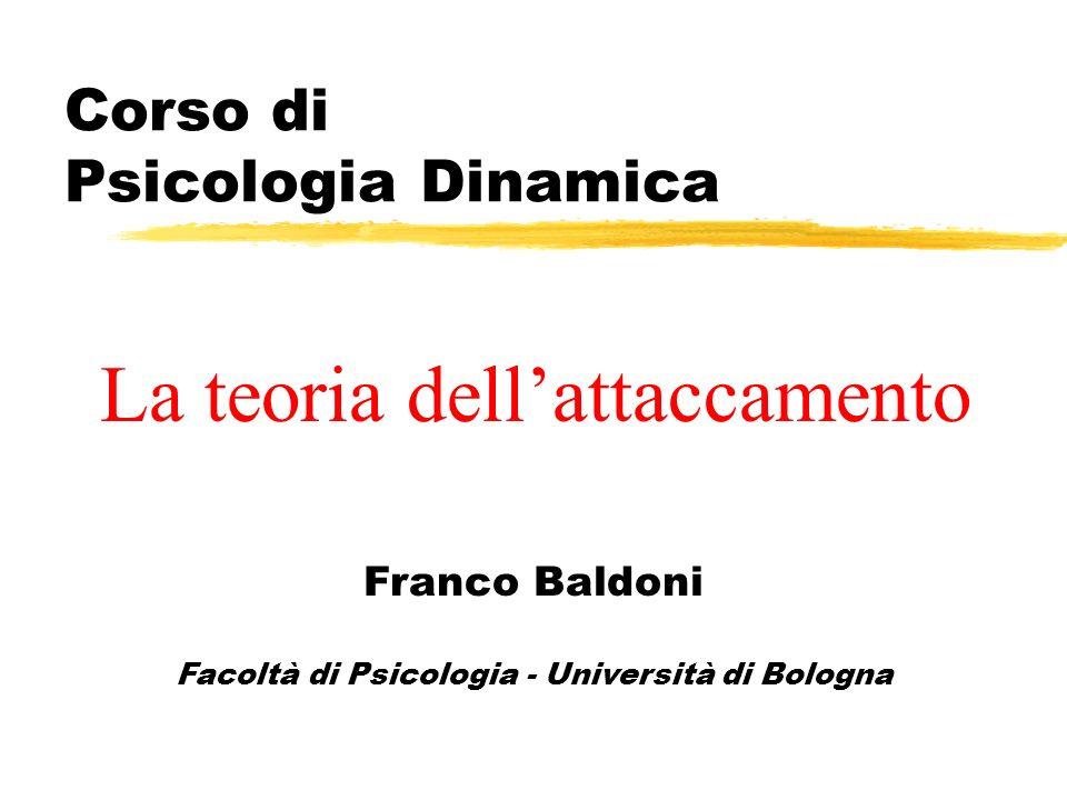 Corso di Psicologia Dinamica