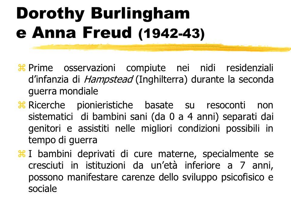 Dorothy Burlingham e Anna Freud (1942-43)