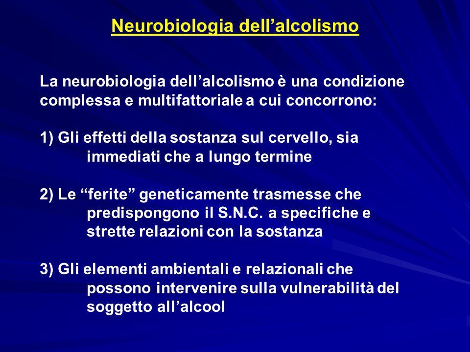 Neurobiologia dell'alcolismo
