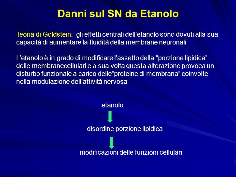 Danni sul SN da Etanolo