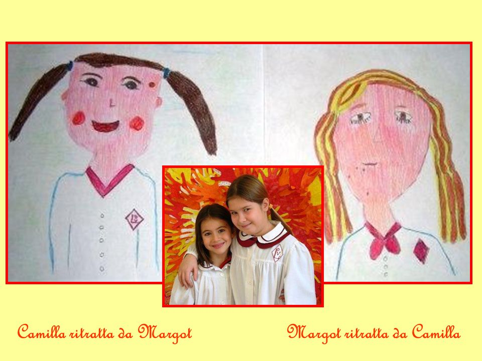 Camilla ritratta da Margot