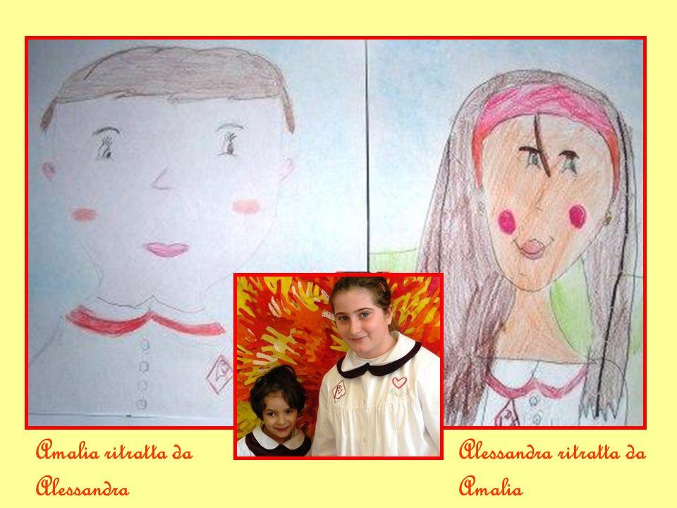 Amalia ritratta da Alessandra