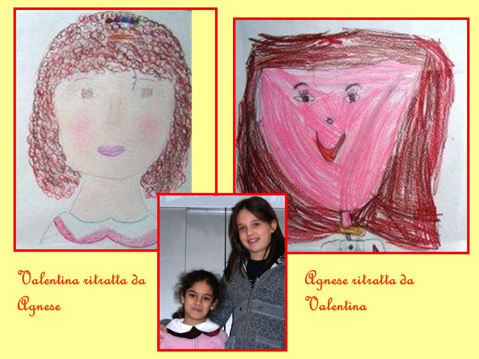 Valentina ritratta da Agnese
