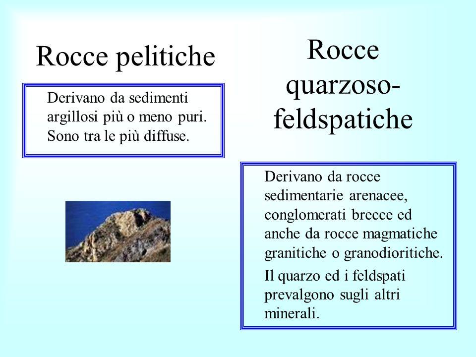 Rocce quarzoso- feldspatiche