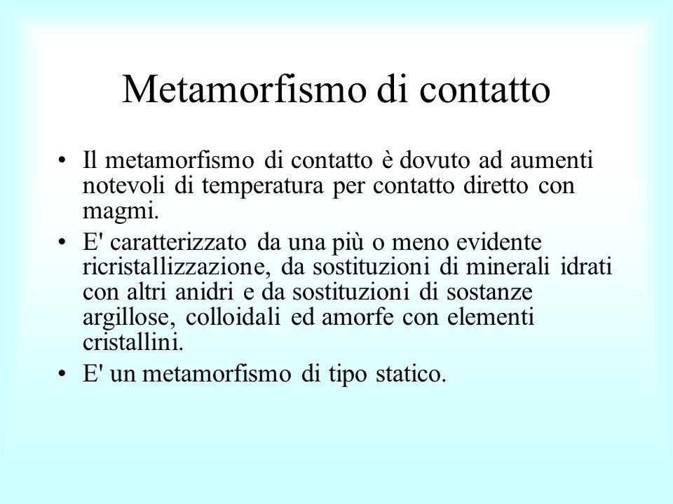Metamorfismo di contatto