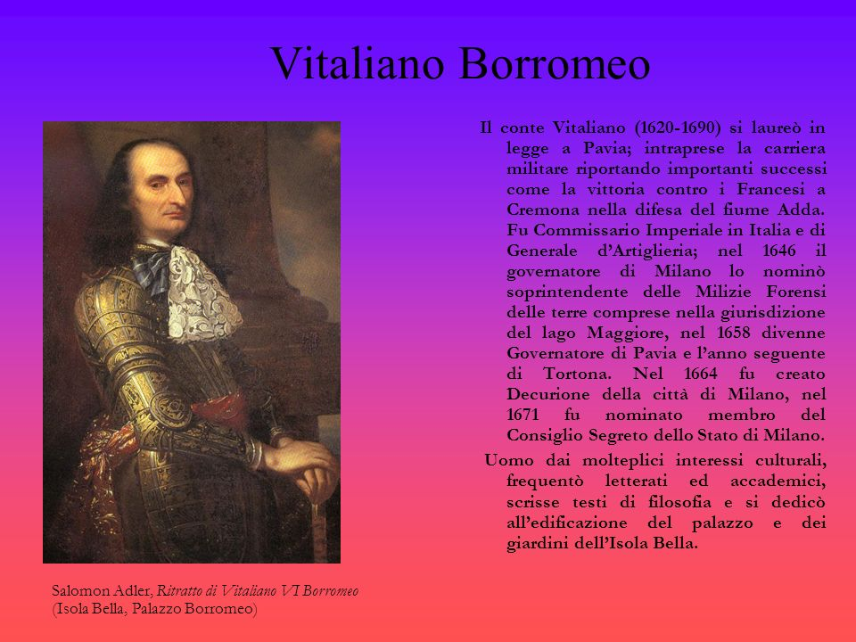 Vitaliano Borromeo