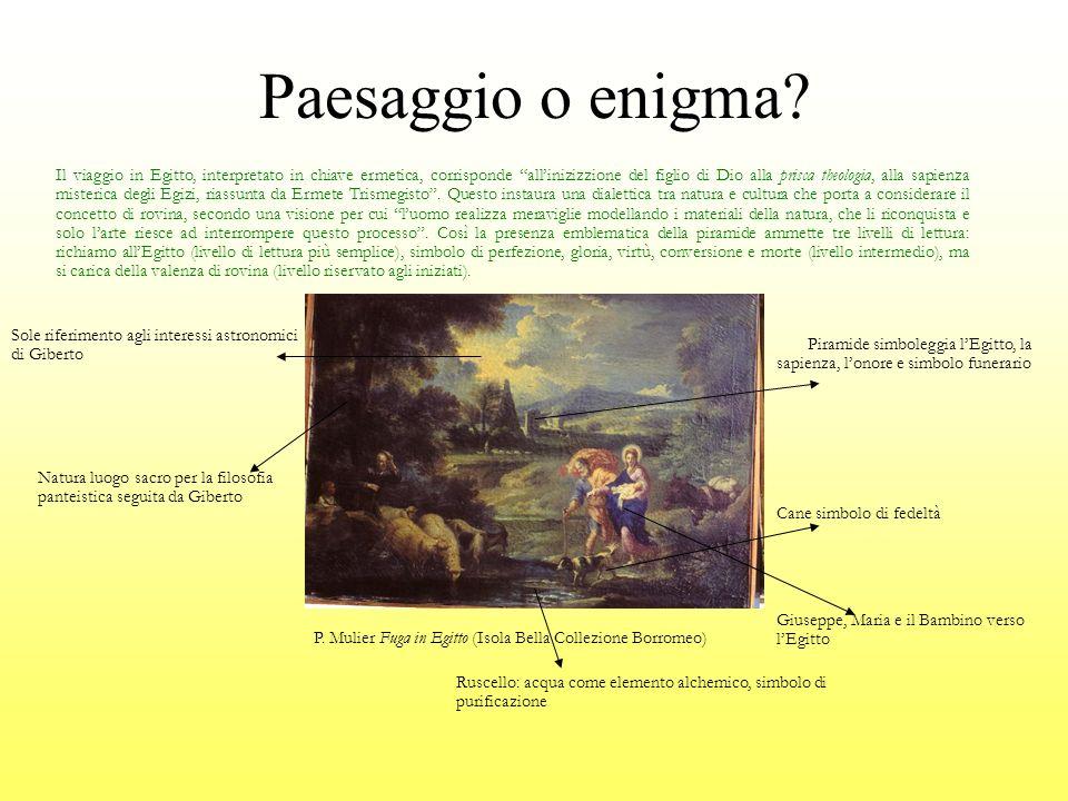 Paesaggio o enigma