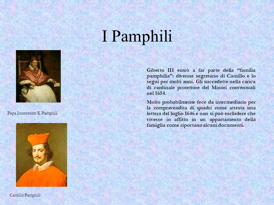I Pamphili