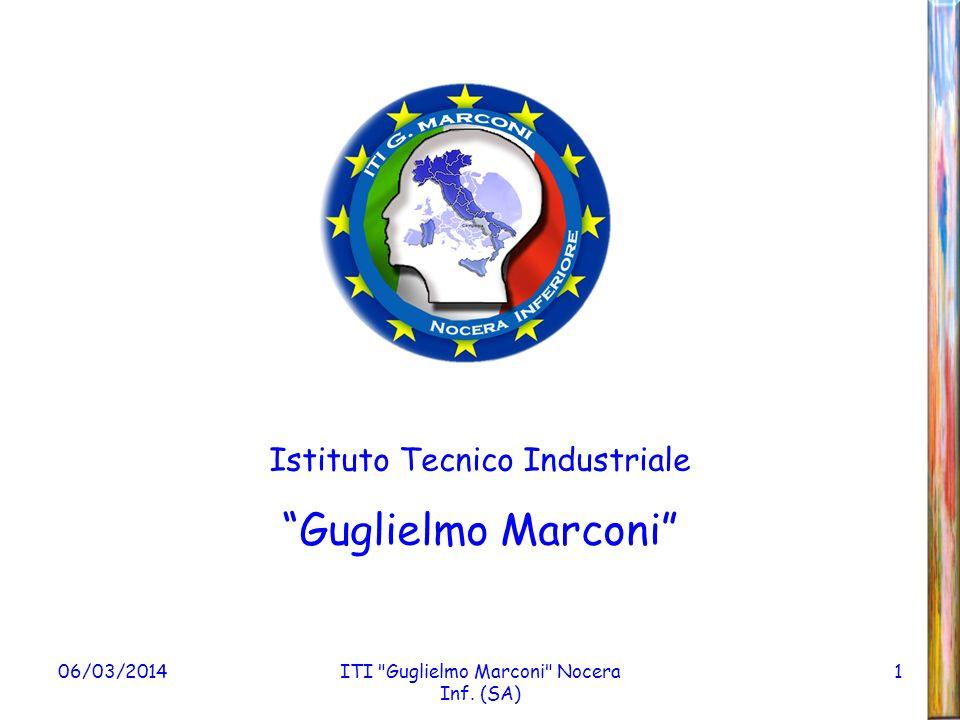Guglielmo Marconi Istituto Tecnico Industriale 28/03/2017