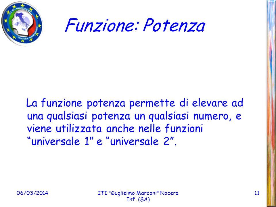 ITI Guglielmo Marconi Nocera Inf. (SA)