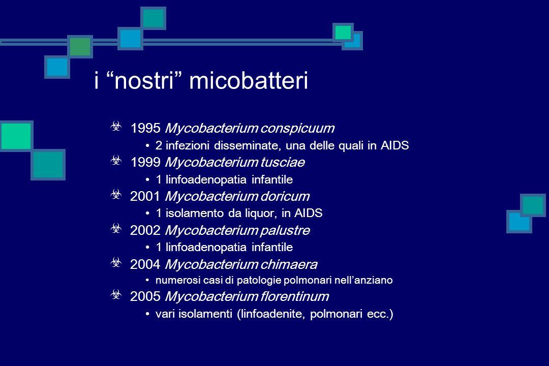 i nostri micobatteri