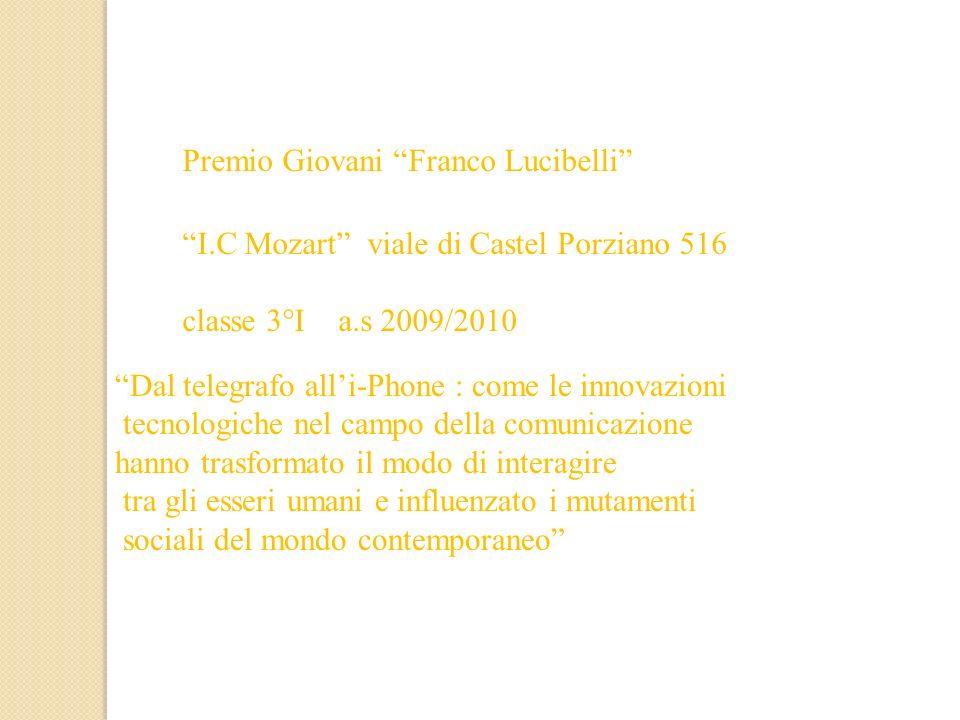 Premio Giovani Franco Lucibelli