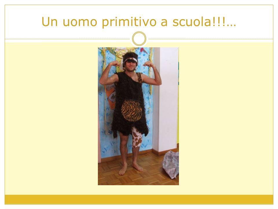 Un uomo primitivo a scuola!!!…