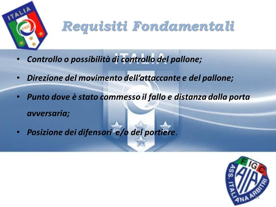 Requisiti Fondamentali