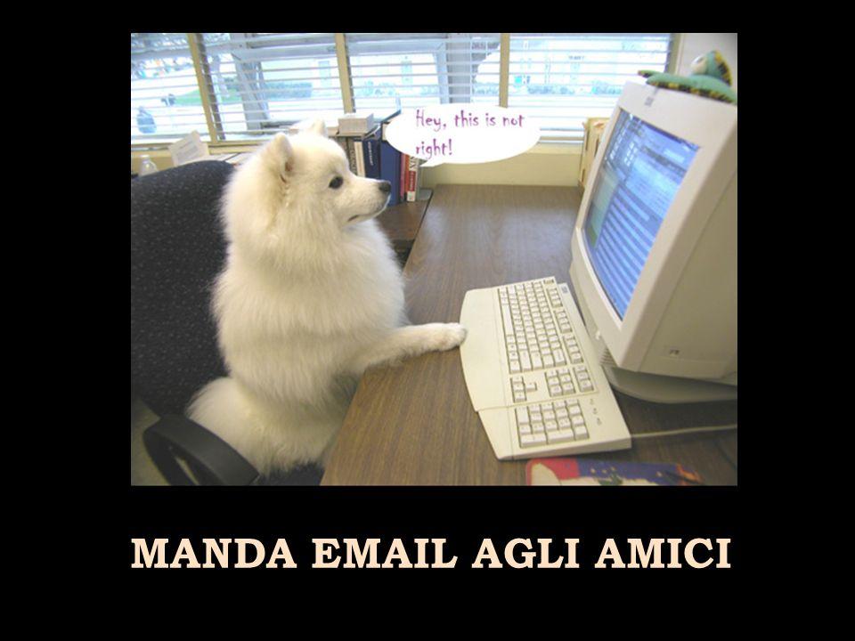 MANDA EMAIL AGLI AMICI