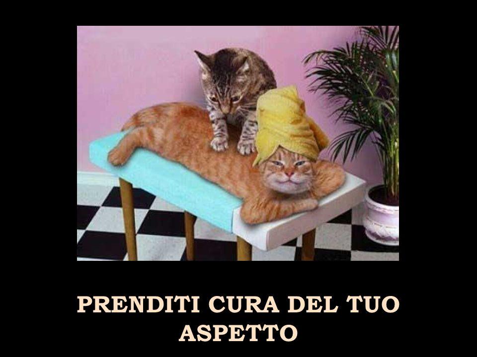 PRENDITI CURA DEL TUO ASPETTO
