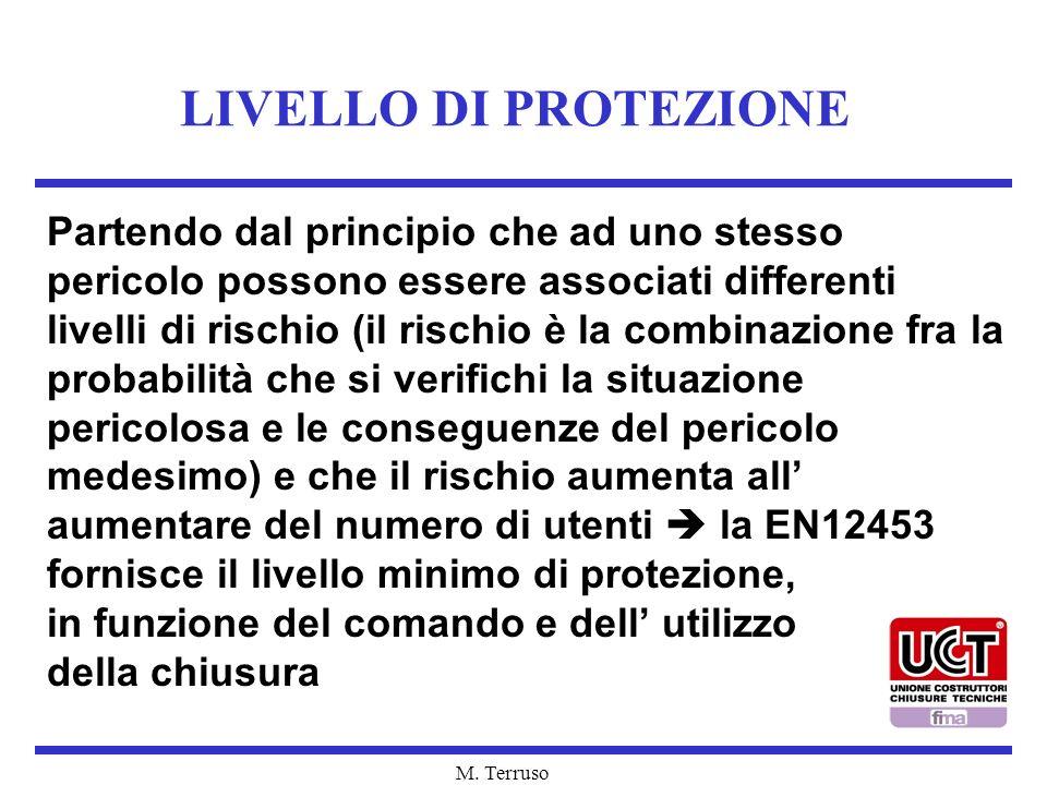 LIVELLO DI PROTEZIONE