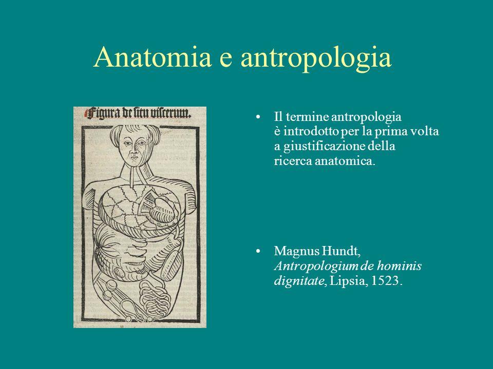 Anatomia e antropologia