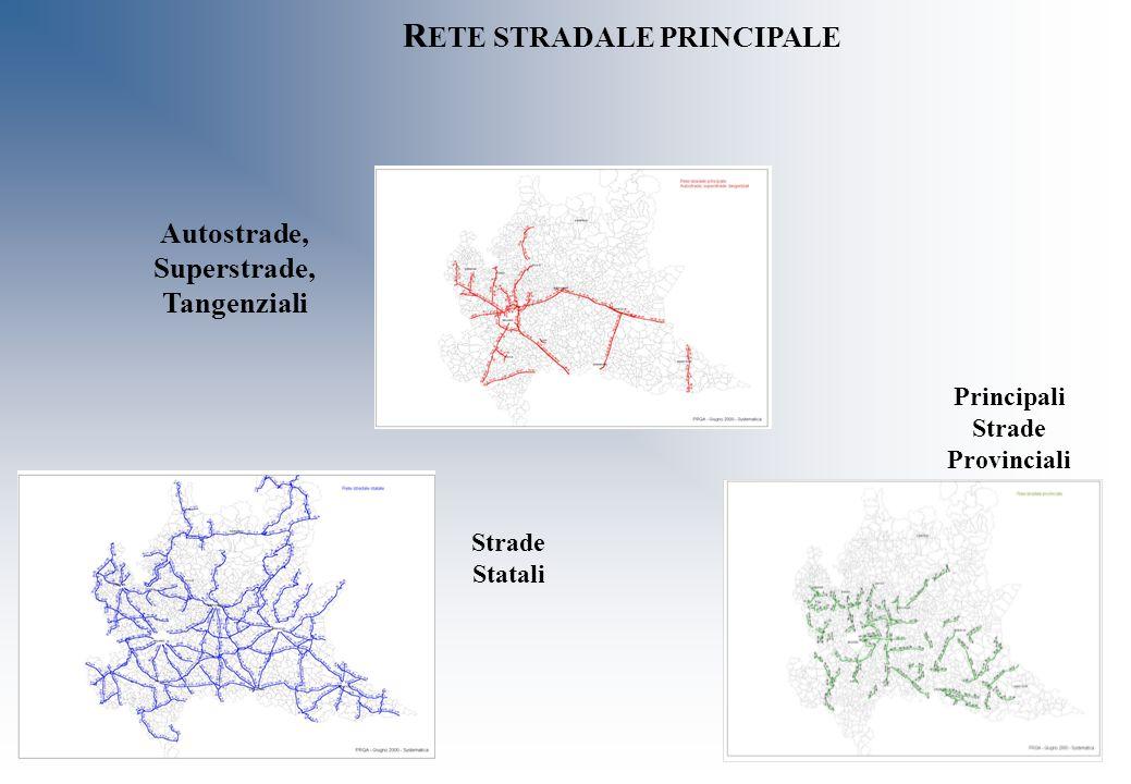 RETE STRADALE PRINCIPALE