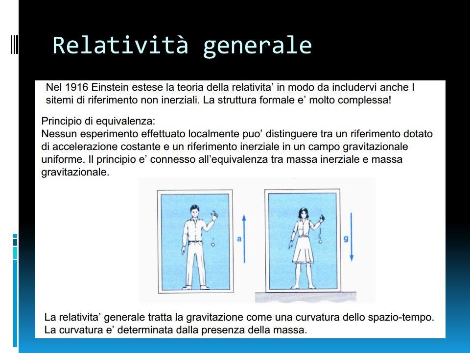 Relatività generale