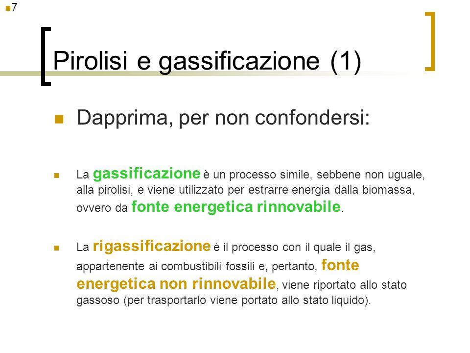Pirolisi e gassificazione (1)