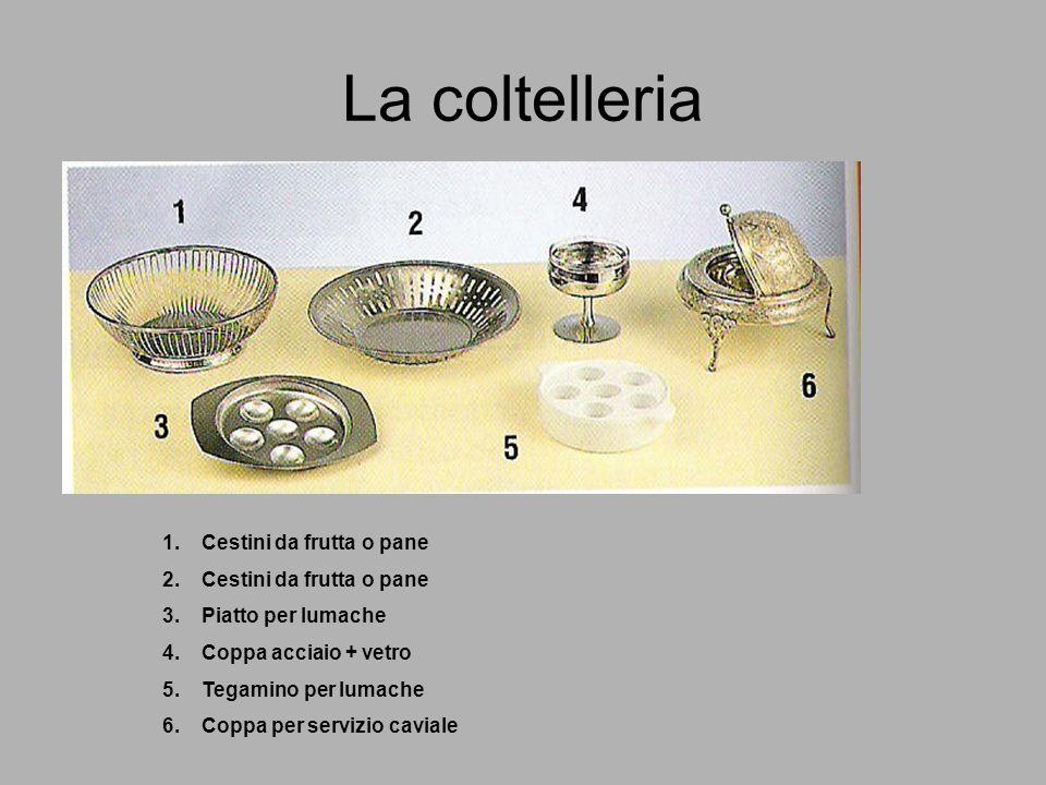 La coltelleria Cestini da frutta o pane Piatto per lumache
