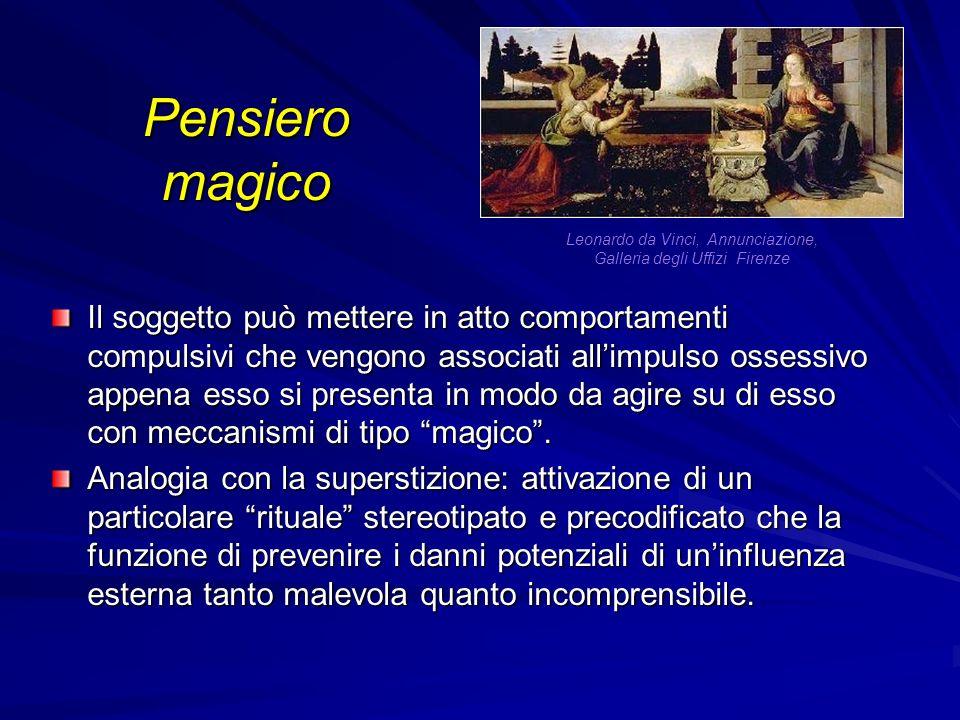 Leonardo da Vinci, Annunciazione, Galleria degli Uffizi Firenze