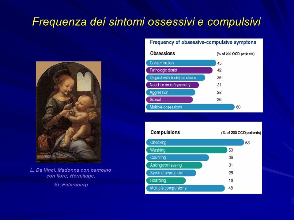 L. Da Vinci. Madonna con bambino con fiore; Hermitage,