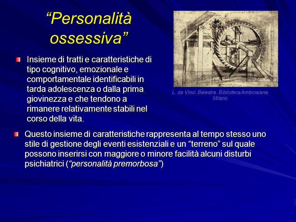 Personalità ossessiva