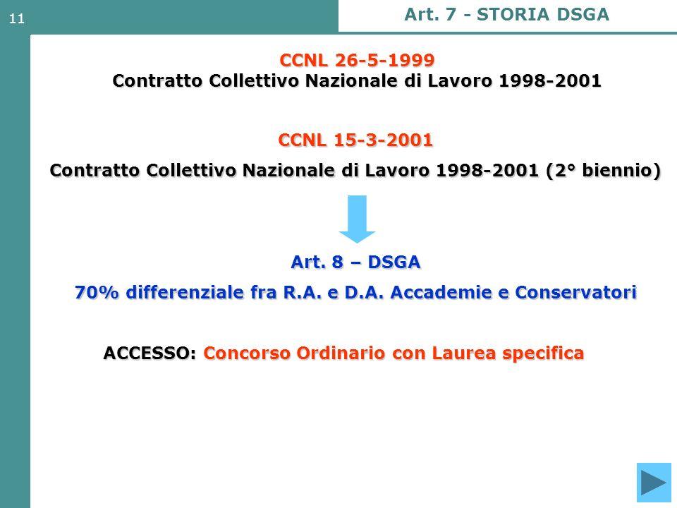 CCNL 26-5-1999 Contratto Collettivo Nazionale di Lavoro 1998-2001