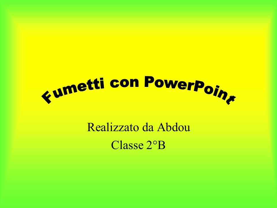 Realizzato da Abdou Classe 2°B