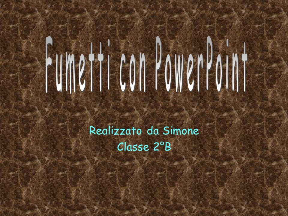 Realizzato da Simone Classe 2°B