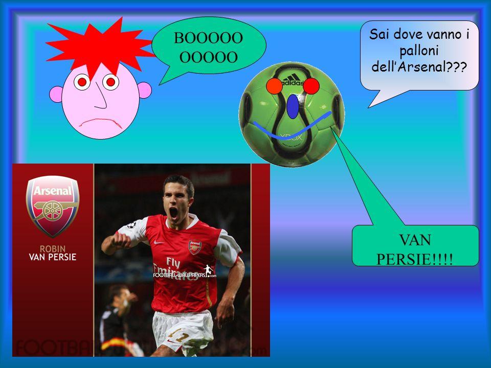 Sai dove vanno i palloni dell'Arsenal