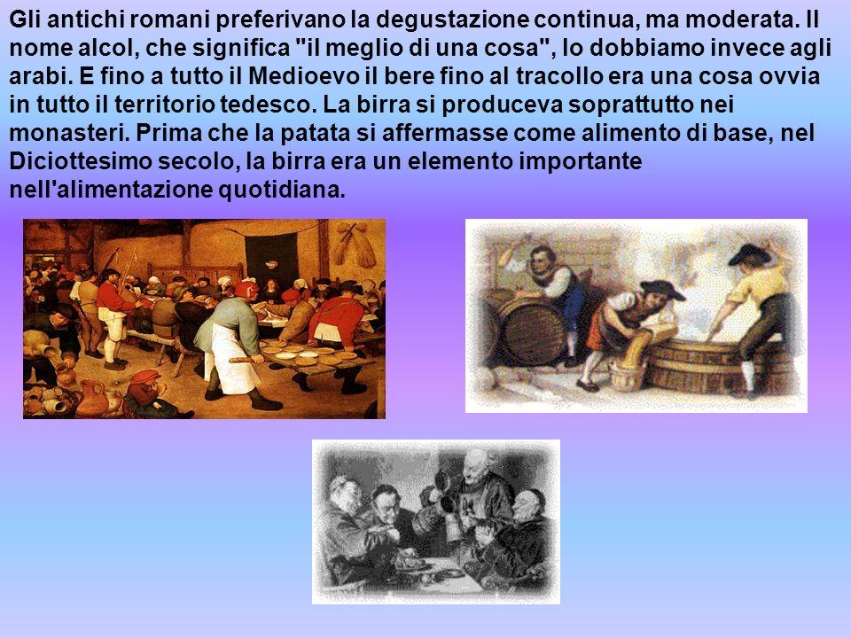 Gli antichi romani preferivano la degustazione continua, ma moderata
