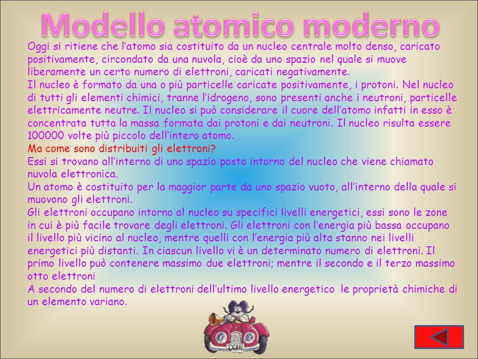 Modello atomico moderno