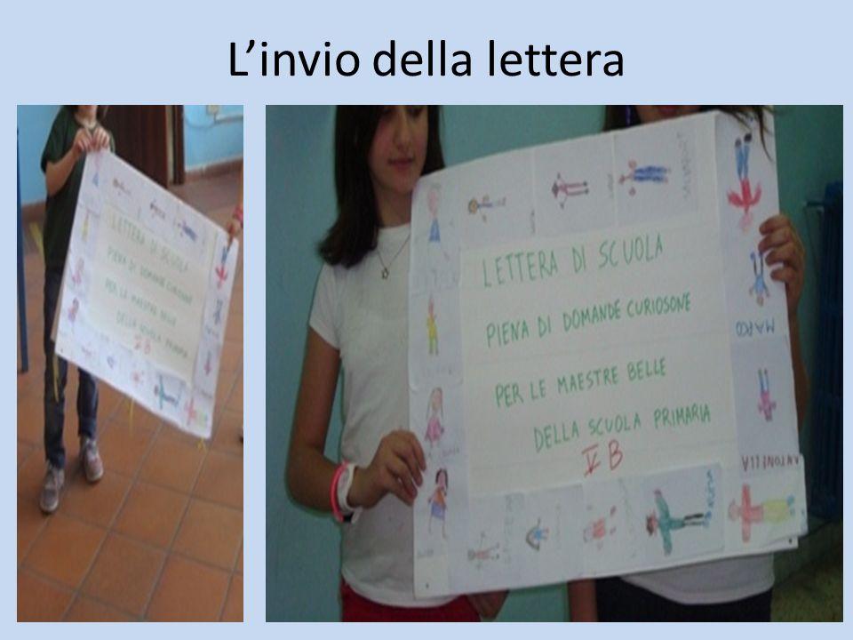 L'invio della lettera