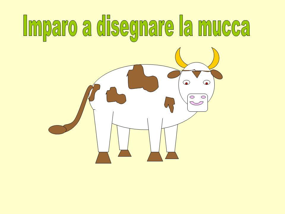 Imparo a disegnare la mucca